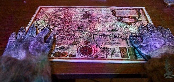 Участие в полуторачасовой квест-игре «Корабль-призрак» для двоих