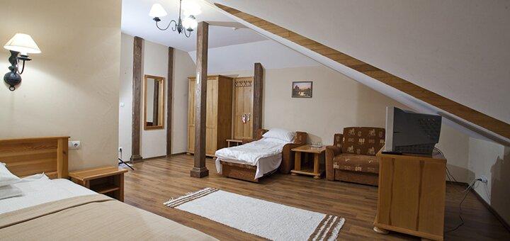 От 3 дней отдыха с питанием, посещением SPA и чанов на SPA-курорте «Богольвар» в Закарпатье
