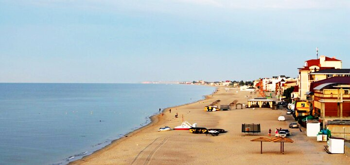 От 3 дней отдыха на базе отдыха «Сич» в Затоке на Черном море в 100 м от аквапарка