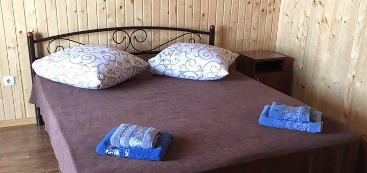 От 5 дней отдыха в августе на базе отдыха «Дикарь» на первой линии от моря в Кирилловке
