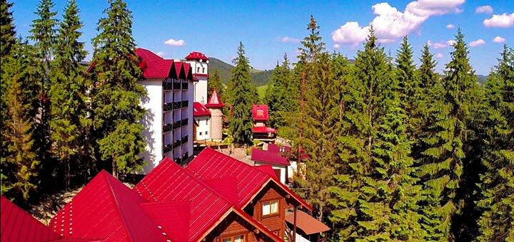 От 3 дней осеннего отдыха с питанием в отеле «Горганы» в Карпатах