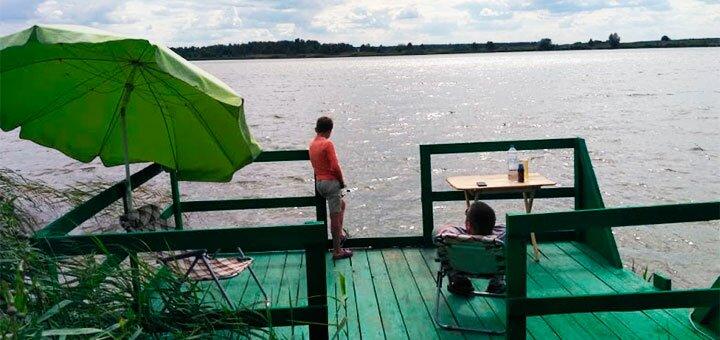Рыбалка с арендой лодки на озере Глория в рыбоводческом хозяйстве «Gloriya Fishing»