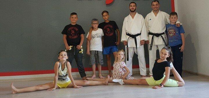 До 16 групповых занятий каратэ для детей или подростков в «Pegas-club KIEV Karate»