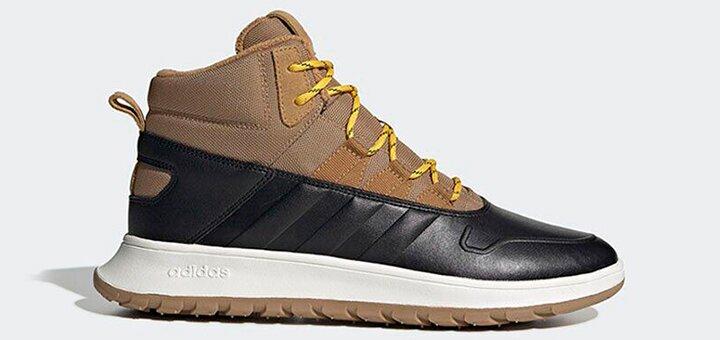 Скидки до 60% на мужские ботинки «Nike», «Adidаs», «Reebok»