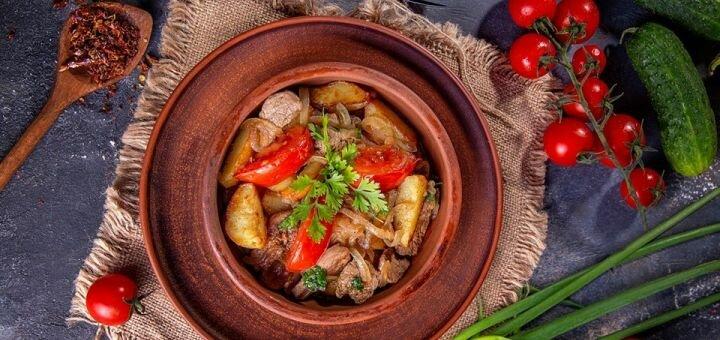 Скидка 40% на все меню кухни и бара в ресторане с авторской фьюжн кухней «Rakhat Lukum»