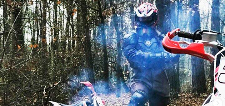 Скидка 33% на экстремальный эндуро-тур на питбайках под Киевом от мотошколы «TDM-Racing»