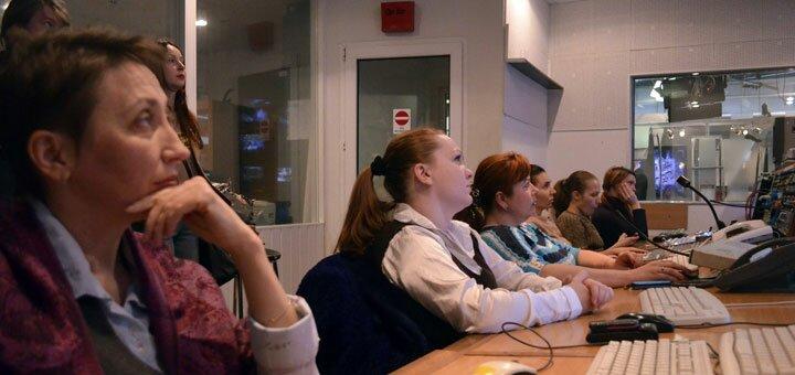 Мастер-класс по ораторскому мастерству в школе телевидения «Prime Media»