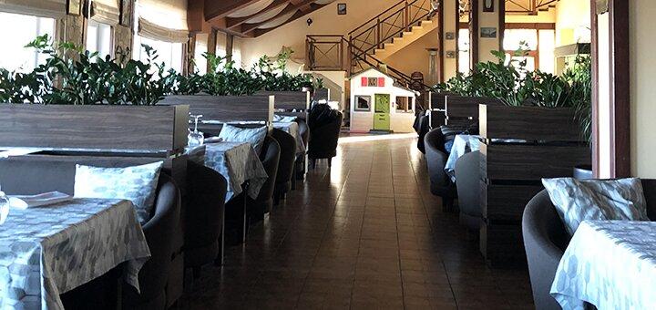 Скидка 40% на все меню кухни в загородном ресторане «Grigliata»