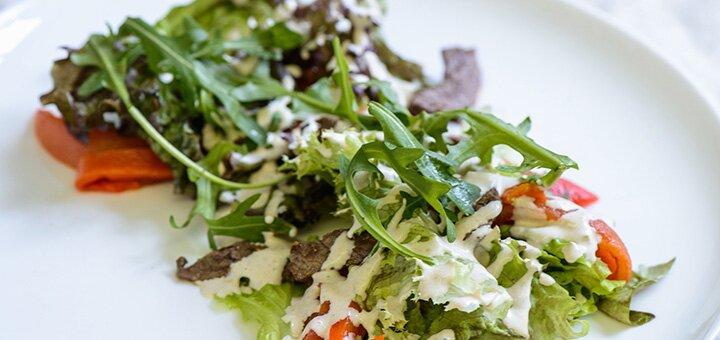 Скидка 40% на все основное меню кухни и бара в ресторане итальянской кухни «Al-dente»