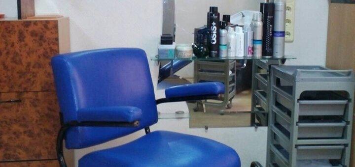 Маникюр, педикюр с покрытием гель-лаком и уходом в кабинете красоты «50/50»