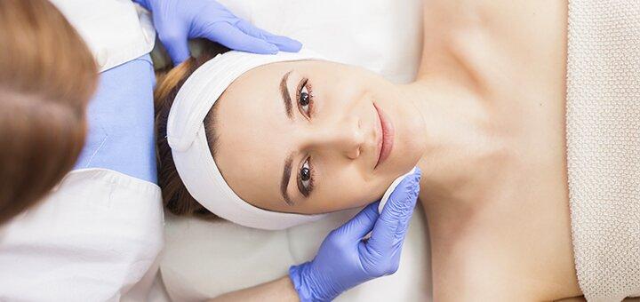 Механическая чистка лица в салоне красоты «Ideal Body»