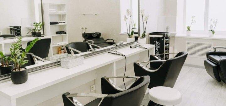 Cтрижка, окрашивание и кератиновая реконструкция волос от стилиста Курило Анастасии