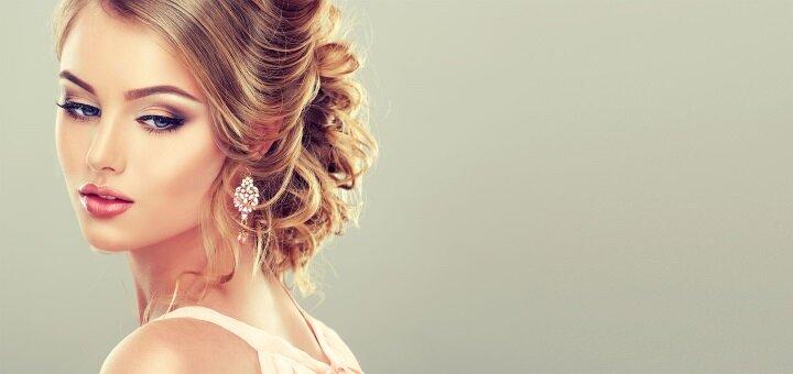 Скидка до 62% на профессиональный макияж и укладку волос в студии «make_up_nimenko»