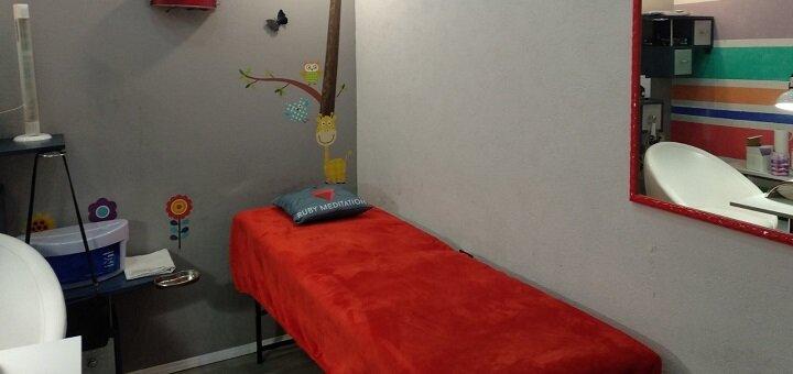 Маникюр или педикюр с массажем с покрытием гель-лаком в салоне красоты «Bella Bambino»