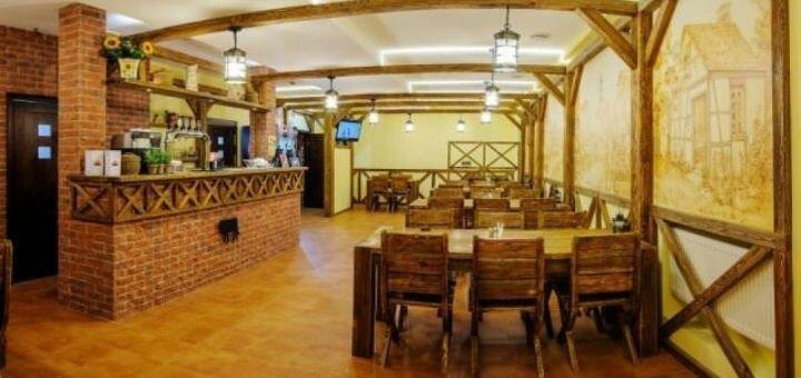 Скидка 50% на все меню кухни в кафе «Прованс»