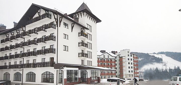 От 5 дней отдыха на Новый Год в отеле «Kasimir Resort Hotel» в Буковеле