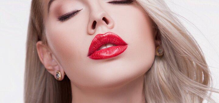 Скидка 50% на увеличение губ в косметологическом кабинете Марии Юзюк