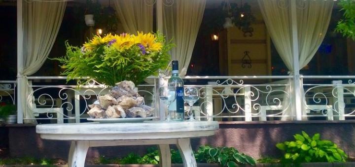 Сет морепродуктов «Grill» и вино в итальянском ресторане «Примавера»