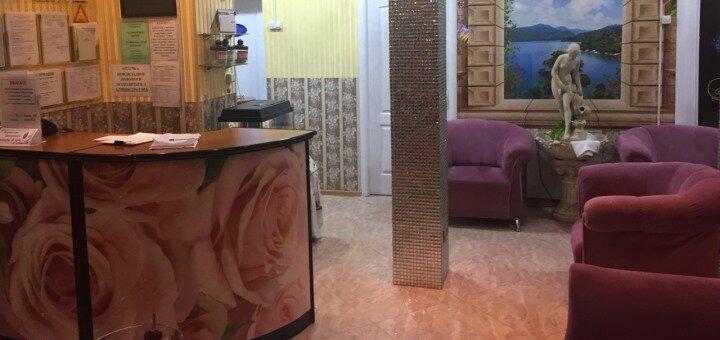 Процедура кислородного обогащения организма в барокамере в оздоровительном центре «Дана-Вита»