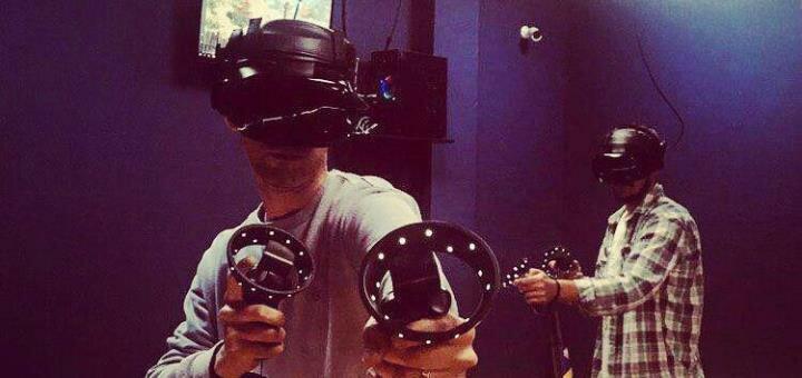 1 час игры в клубе виртуальной реальности «Zeus VR»