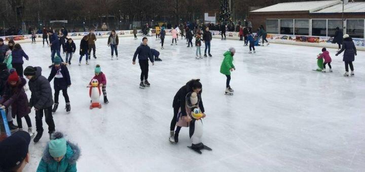 Скидка 50% на билеты на каток «Ice Age» в парке Горького